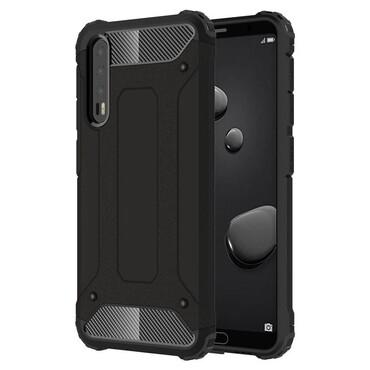 """Robustní obal """"Rock"""" pro Huawei P20 Pro - černý"""