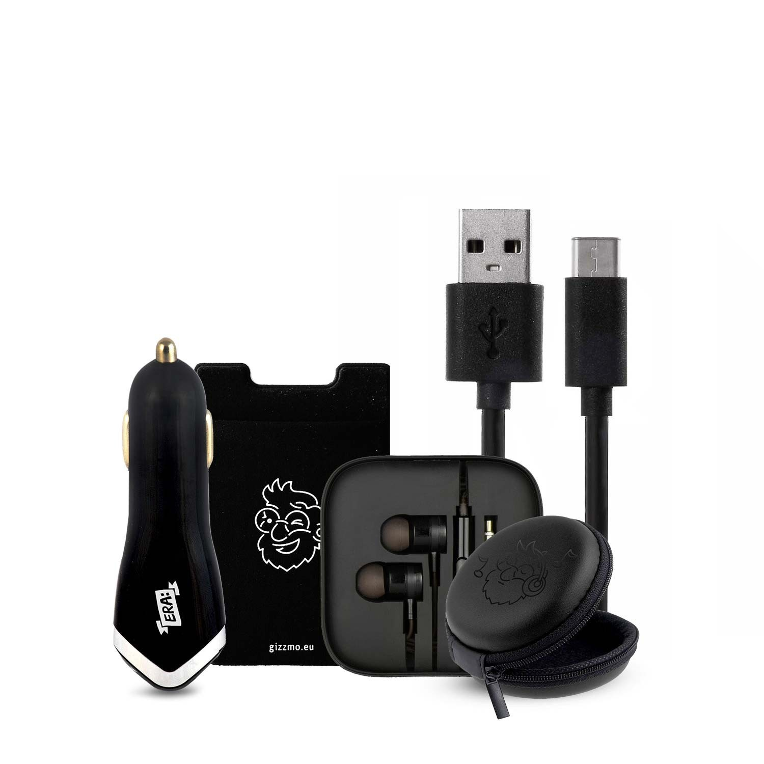 Mr. Gizzmo Starter Pack 5in1 (kabel Type-C na USB)