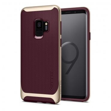 """Obal Spigen """"Neo Hybrid"""" pro Samsung Galaxy S9 - vínový"""