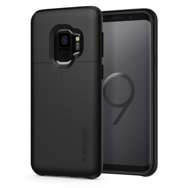 "Kryt Spigen ""Slim Armor CS"" pro Samsung Galaxy S9 - black"