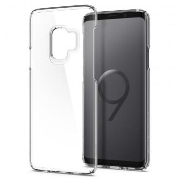 """Obal Spigen """"Thin Fit"""" pro Samsung Galaxy S9 - křišťálově jasný"""