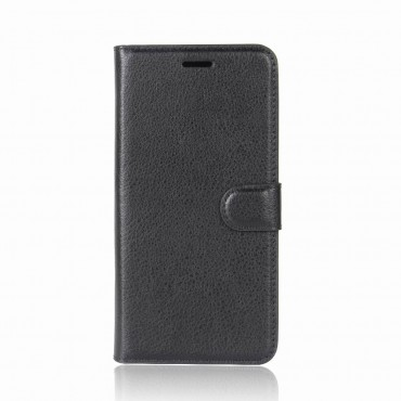 """Elegantní pouzdro """"Litchi"""" pro Huawei P20 - černé"""