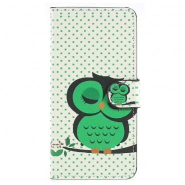 """Módní kryt """"Sleeping Owl"""" pro Huawei P20"""