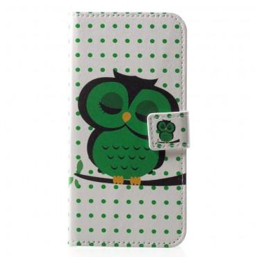 "Módní pouzdro ""Sleeping Owl"" pro Huawei P20 Lite"