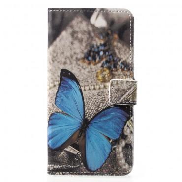 """Módní pouzdro """"Blue Butterfly"""" pro Huawei P20 Pro"""