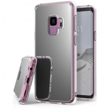 """Obal Ringke """"Mirror"""" pro Samsung Galaxy S9 - stříbrný"""
