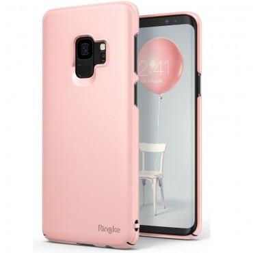"Obal Ringke ""Slim"" pro Samsung Galaxy S9 - broskvově růžový"
