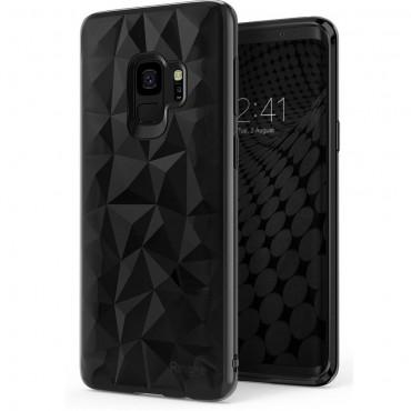 """Obal Ringke """"Air Prism"""" pro Samsung Galaxy S9 - inkoustově černý"""