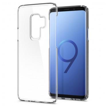 """Obal Spigen """"Thin Fit"""" pro Samsung Galaxy S9 Plus - křišťálově jasný"""