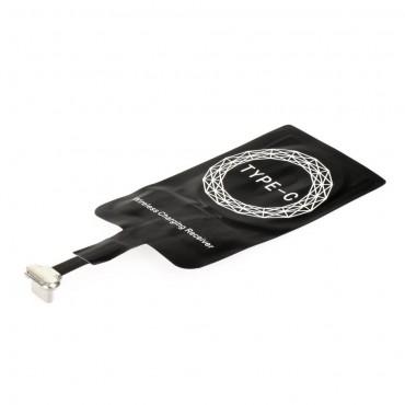 Univerzální bezdrátový QI přijímač pro zařízení - USB-C přípojka