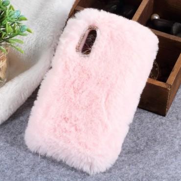 """Módní kryt """"Fluffy"""" pro Huawei P20 - růžové"""