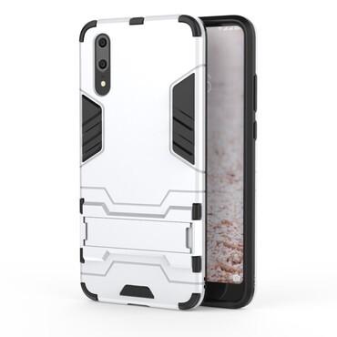 "Robustní obal ""Impact X"" pro Huawei P20 - stříbrný"