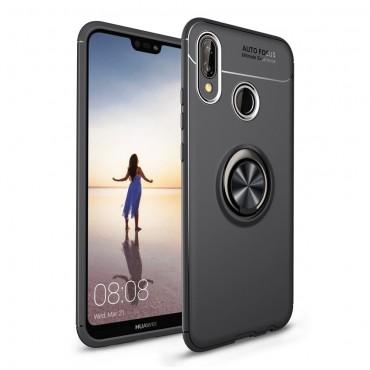 "Kryt TPU gel ""Multi Ring"" pro Huawei P20 Lite - černý"