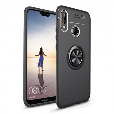 """TPU gelový obal """"Multi Ring"""" pro Huawei P20 Lite - černý"""