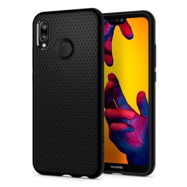 """Obal Spigen """"Liquid Air"""" pro Huawei P20 Lite - matně černý"""