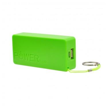 """Powerbanka """"PowerSquare"""" - 5 600 mAh - zelená"""