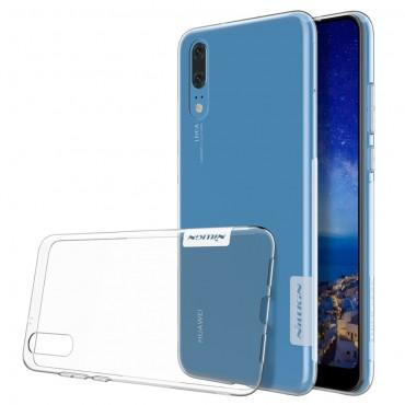 "Prémiový tenký obal ""Nature"" Huawei P20 - průhledný"