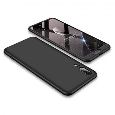 """Elegantní celotělový obal """"Sleek"""" pro Huawei P20 - černý"""