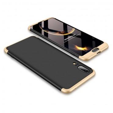 """Elegantní celotělový obal """"Sleek"""" pro Huawei P20 - zlaté barvy"""