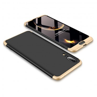 """Elegantní celotělový obal """"Sleek"""" pro Huawei P20 - zlatý"""