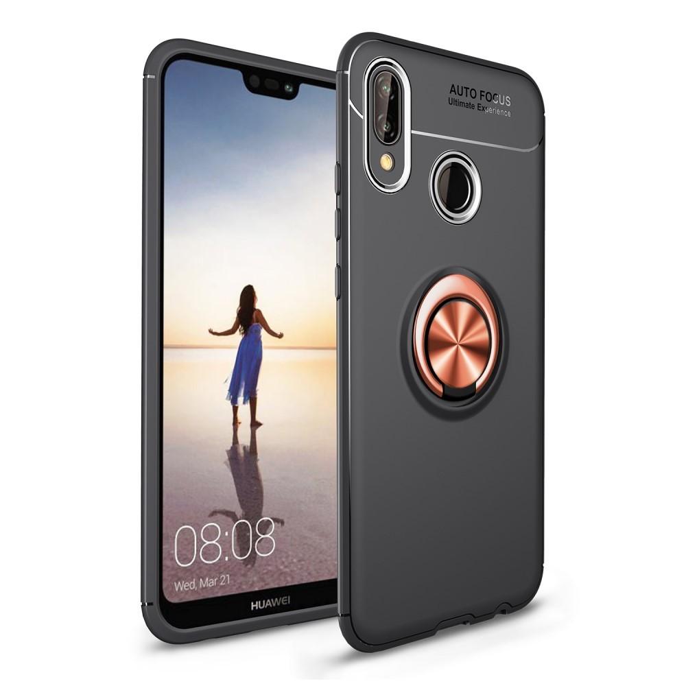 "TPU gelový obal ""Multi Ring"" pro Huawei P20 Lite - zlaté barvy"