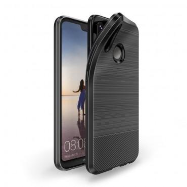 "Kryt TPU gel ""Mojo"" pro Huawei P20 Lite - černý"