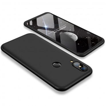 """Elegantní celotělový obal """"Sleek"""" pro Huawei P20 Lite - černý"""