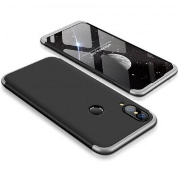 """Elegantní celotělový obal """"Sleek"""" pro Huawei P20 Lite - černý a šedý"""