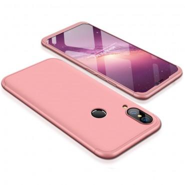 """Elegantní celotělový obal """"Sleek"""" pro Huawei P20 Lite - růžové"""