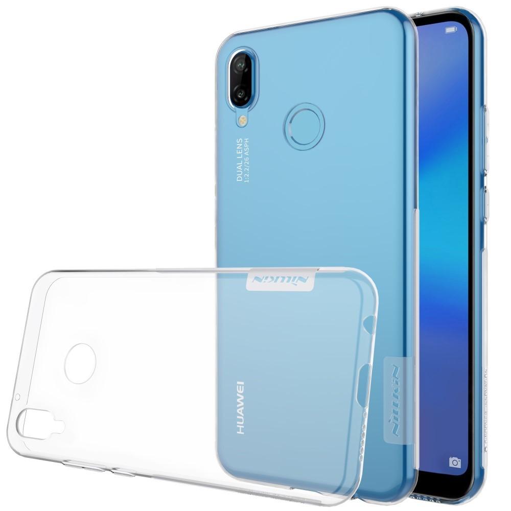 """Prémiový tenký obal """"Nature"""" Huawei P20 Lite - průhledný"""