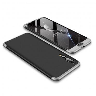 """Elegantní celotělový obal """"Sleek"""" pro Huawei P20 Pro - černý a šedý"""