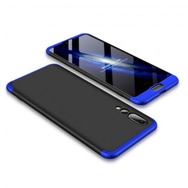 """Elegantní celotělový obal """"Sleek"""" pro Huawei P20 Pro - černo-modrý"""