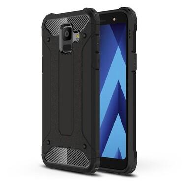 """Robustní obal """"Rock"""" pro Samsung Galaxy A6 2018 - černý"""