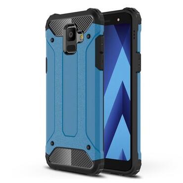 """Robustní obal """"Rock"""" pro Samsung Galaxy A6 2018 - modrý"""