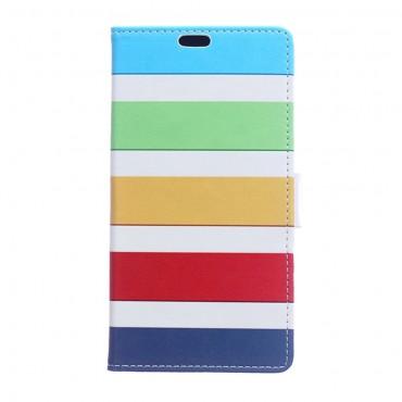 """Módní pouzdro """"Color Stripes"""" pro Samsung Galaxy A6 Plus 2018"""