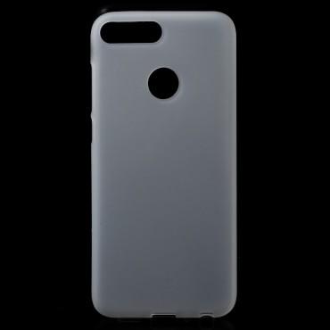 TPU gelový obal pro Huawei Honor 9 Lite - bílý