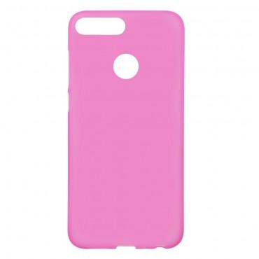 TPU gelový obal pro Huawei Honor 9 Lite - růžový