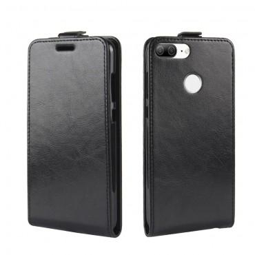 Módní flipový kryt pro Huawei Honor 9 Lite - černý