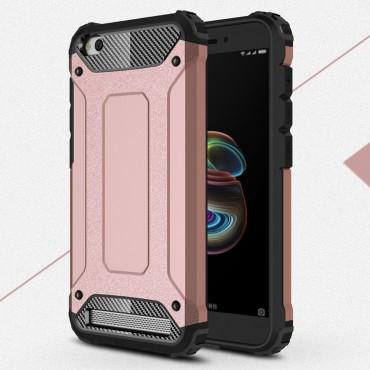 """Robustní obal """"Rock"""" pro Xiaomi Redmi 5A - růžový"""
