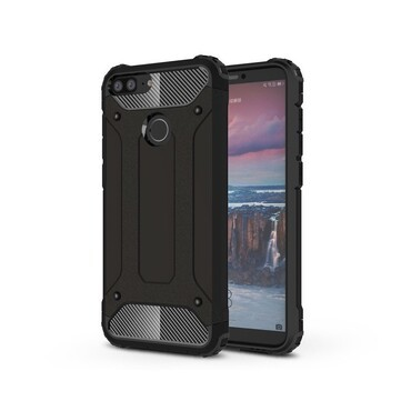 "Robustní obal ""Rock"" pro Huawei Honor 9 Lite - černý"
