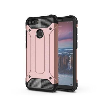 "Robustní obal ""Rock"" pro Huawei Honor 9 Lite - růžový"