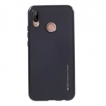 Kryt TPU gel Goospery iJelly Case Huawei P20 Lite - černý