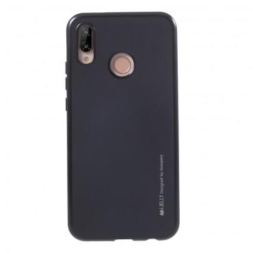 TPU gelový obal Goospery iJelly Case Huawei P20 Lite - černý