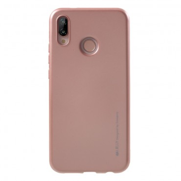 Kryt TPU gel Goospery iJelly Case pro Huawei P20 Lite - růžový