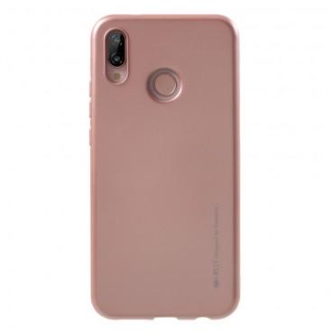 TPU gelový obal Goospery iJelly Case Huawei P20 Lite - růžový
