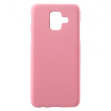 Pevný kryt TPU pro Samsung Galaxy A6 2018 - růžový