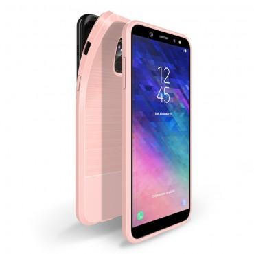 """Kryt TPU gel """"Mojo"""" pro Samsung Galaxy A6 2018 - růžový"""