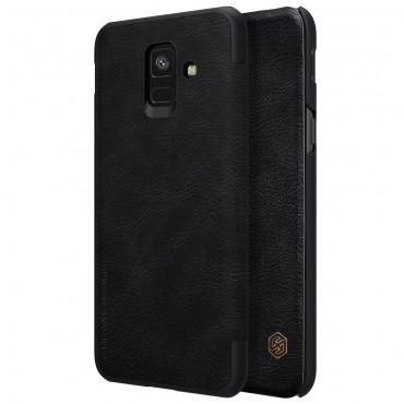 """Elegantní pouzdro """"Qin"""" pro Samsung Galaxy A6 2018 - černé"""