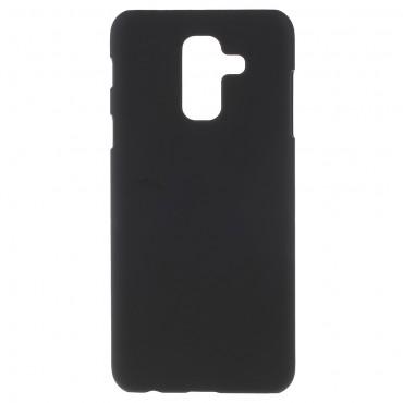Pevný kryt TPU pro Samsung Galaxy A6 Plus 2018 - černý