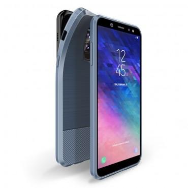 """TPU gelový obal """"Mojo"""" pro Samsung Galaxy A6 Plus 2018 - modrý"""